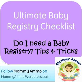 ultimate baby registry checklist