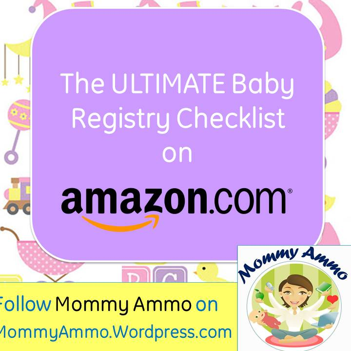 Ultimate Baby Registry Shopping Checklist  Amazon Baby Registry