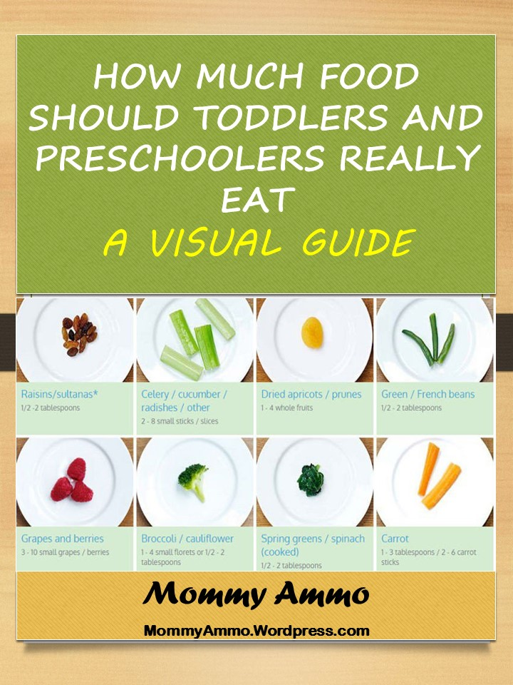how much food should your toddler or preschooler really